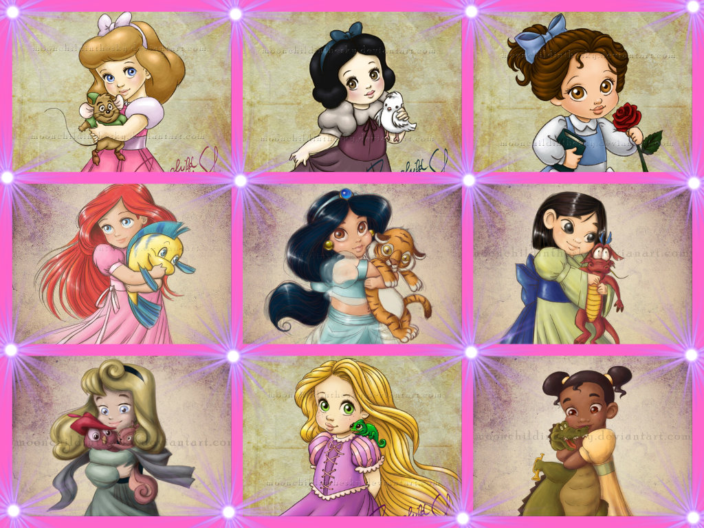 baby princess disney princess fan art 35008515 fanpop
