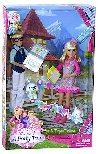 barbie & her sisters in a pony tale max and marie - barbie-movies Photo