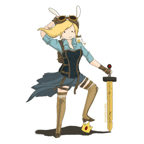fiolee (fionna e marshal lee) wallpaper titled steampunk fionna