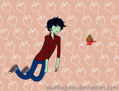 flee 딸기 flee