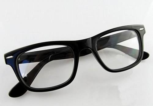 glasses of a nerd