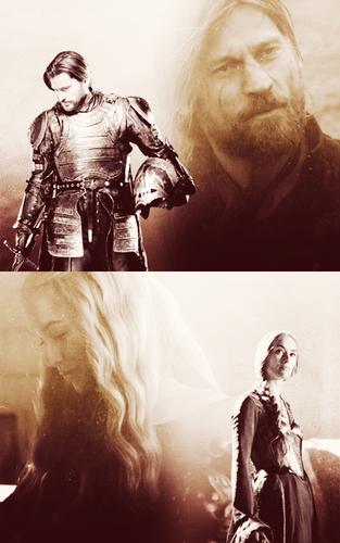 Jaime & Cersei Lannister