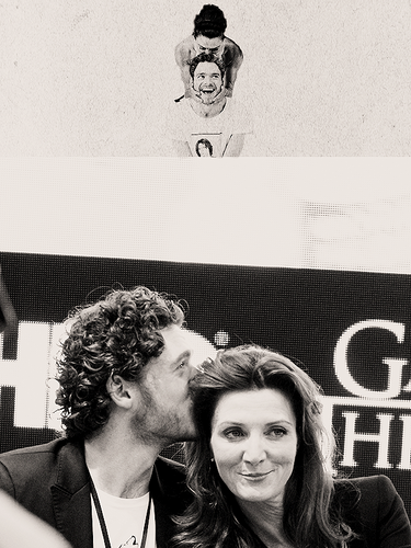 Michelle Fairley & Richard Madden @ Comic Con 2013