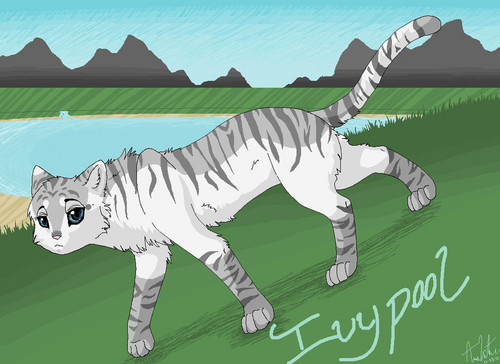 i drew this for ivypool pasangan