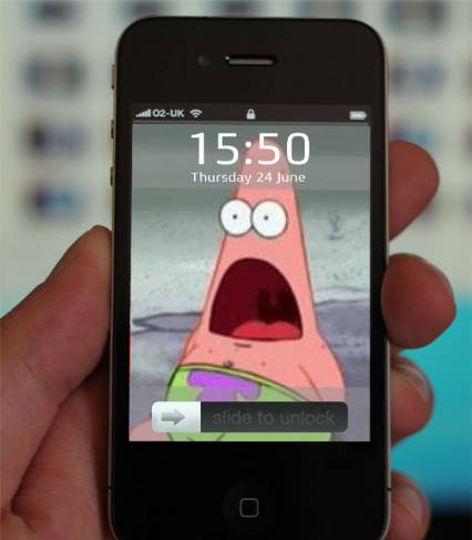 iphone patrick