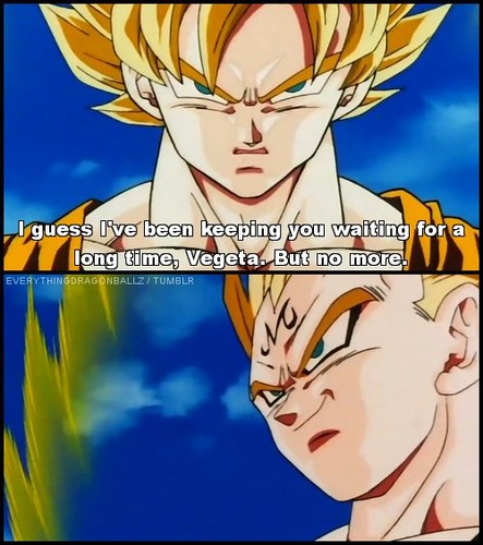 is goku talking about sex???
