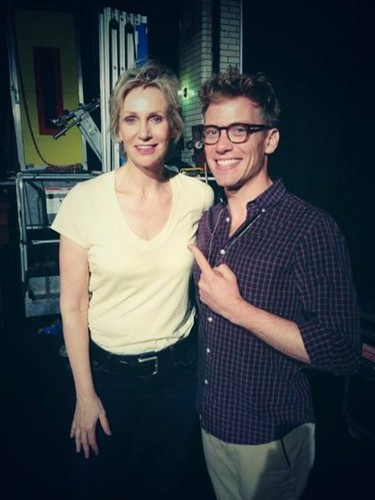 jane lynch and barret foa