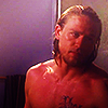 "Jackson ""JAX"" Teller Foto probably containing a stück, hunk called jax teller"