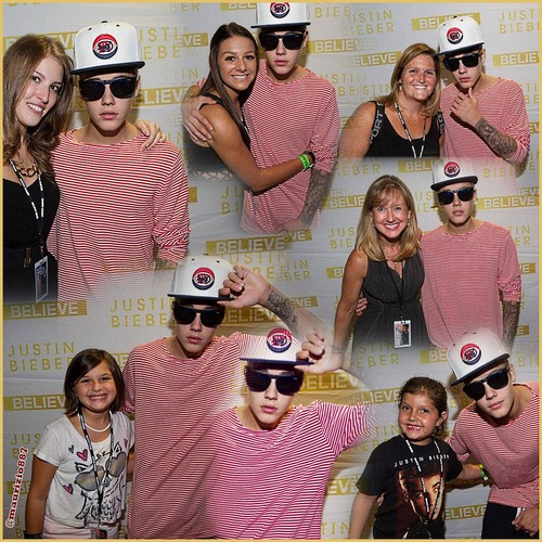 justin bieber Meet & Greet ,Boston 2013,