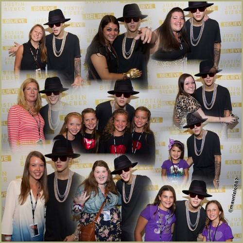 justin bieber Meet & Greet Buffalo 2013
