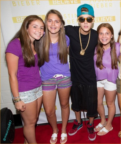 justin bieber Meet & Greet ,Hartford & Philly 2013