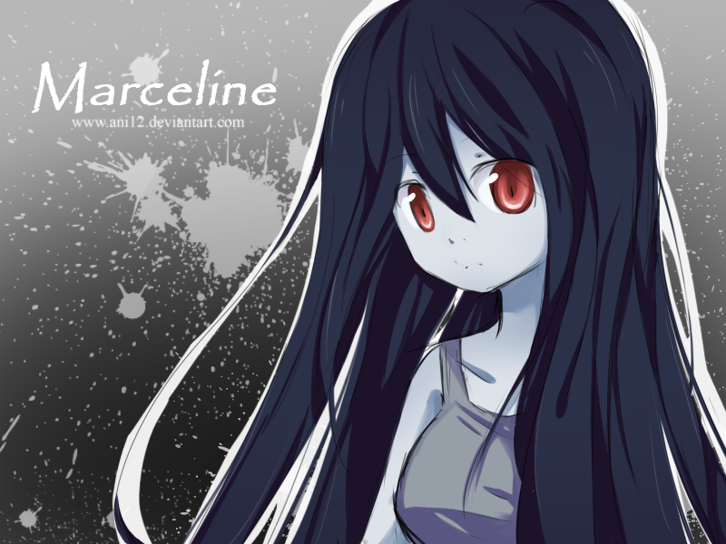 Marceline Adventure Time With Finn And Jake Wallpaper