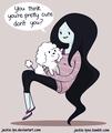 marceline luvs her puppy