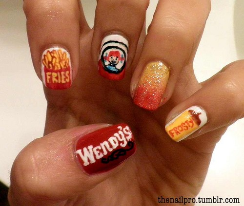 Nails, Nail Art wallpaper entitled Wendys