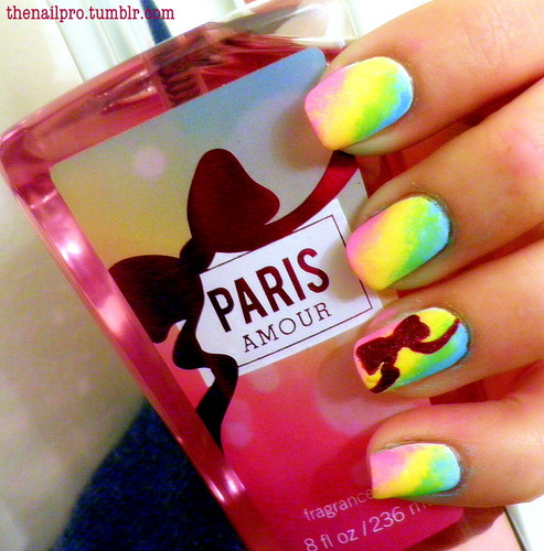 Nails, Nail Art wallpaper called Paris