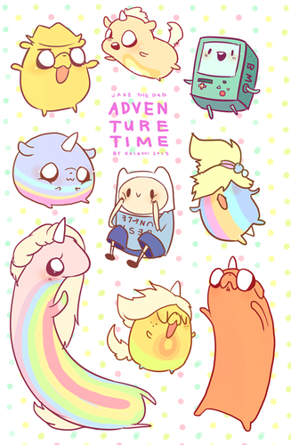 Adventure Time hình nền entitled chó con