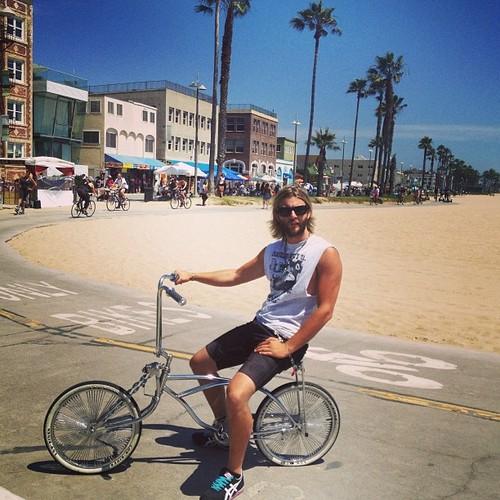 riding around LA