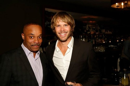 NCIS: Los Angeles Обои containing a business suit and a suit called rocky carroll and eric christian olsen