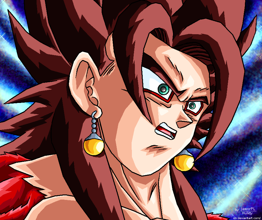 shocked ssj4 vegito