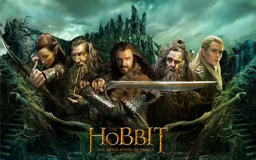 호빗 바탕화면 containing 아니메 entitled the hobbit the desolation of smaug