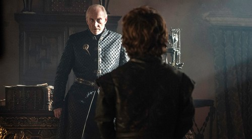 House Lannister wolpeyper possibly containing a business suit called tywin