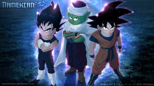 vegeta Goku piccolo
