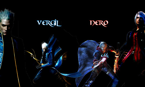 Devil may cry 4 vergil nero hd and background devil may cry 4 with a entitled vergil nero voltagebd Images