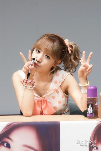 130728 Namjoo at Busan Fansigning Event