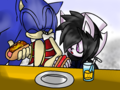 .:Base Used:. Little DJ and her dad Sonic  - sonic-bases photo