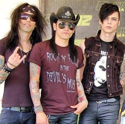 ★ Black Veil Brides ~ Warped Tour 2013 ☆