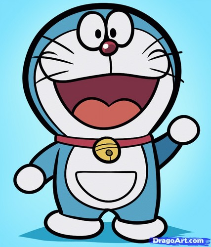 Doraemon karatasi la kupamba ukuta possibly with anime called ♡ Doraemon ♡
