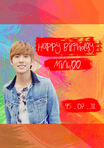 ஐღHappy B-day, Minwoo!!!ღஐ