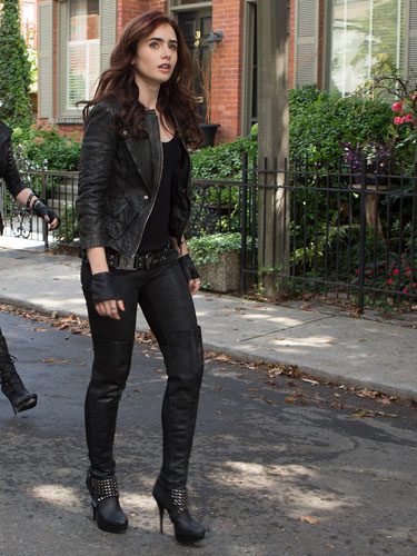 """The Mortal Instruments: City of Bones"" Clary still"