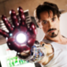 ♡ robert downey  - iron-man icon