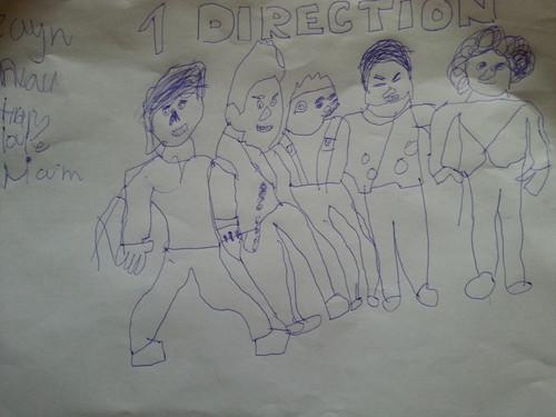 1 D by sam ingle age 6