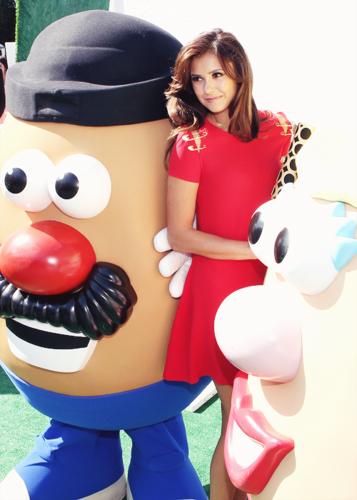 Nina at  2013 Variety's Power of Youth