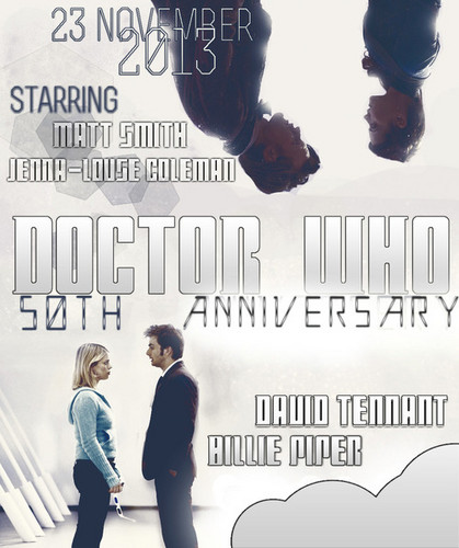 50th Anniversary Fanmade Poster. :)