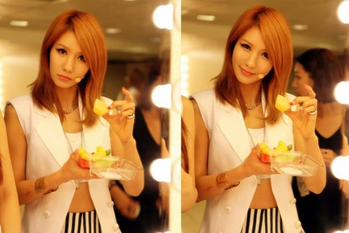 AFTERSCHOOL Hong Kong fanmeeting behind cut! (Jung Ah)