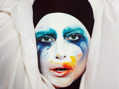 Lady Gaga fond d'écran called APPLAUSE cover