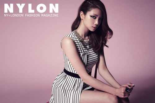 After School's Kaeun - NYLON Korea August Issue '13