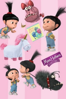 Despicable Me images Agnes wallpaper and background photos