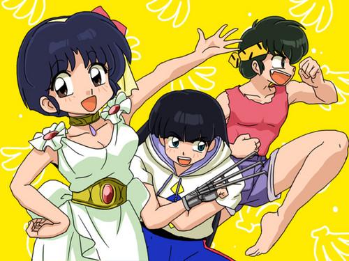 Akane, Ryoga, and 摩丝, 慕斯