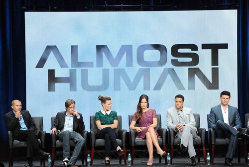 Almost Human Panel at vos, fox Summer TCA