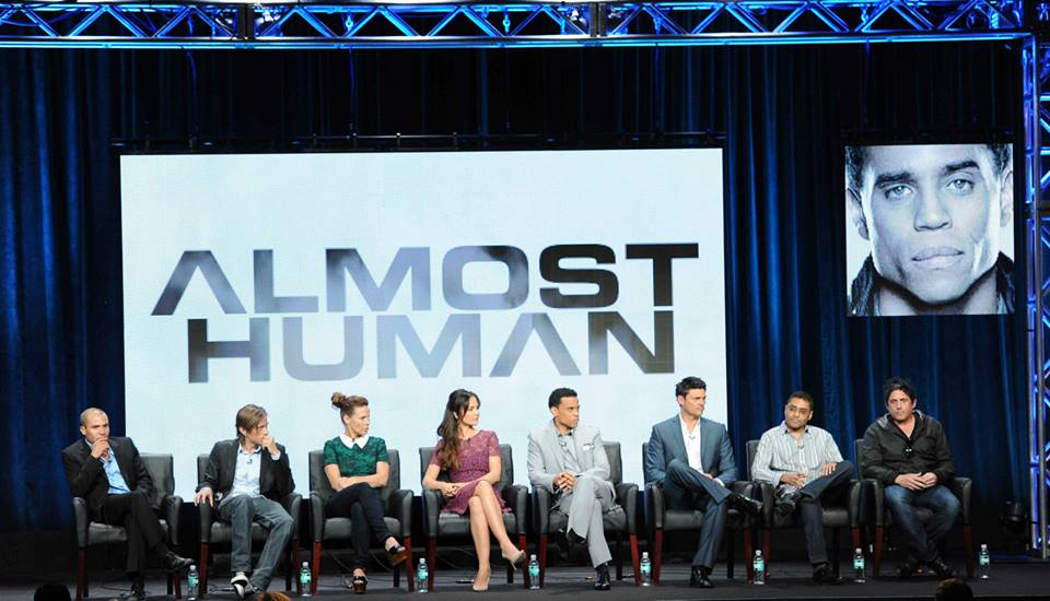 Almost Human Panel at rubah, fox Summer TCA