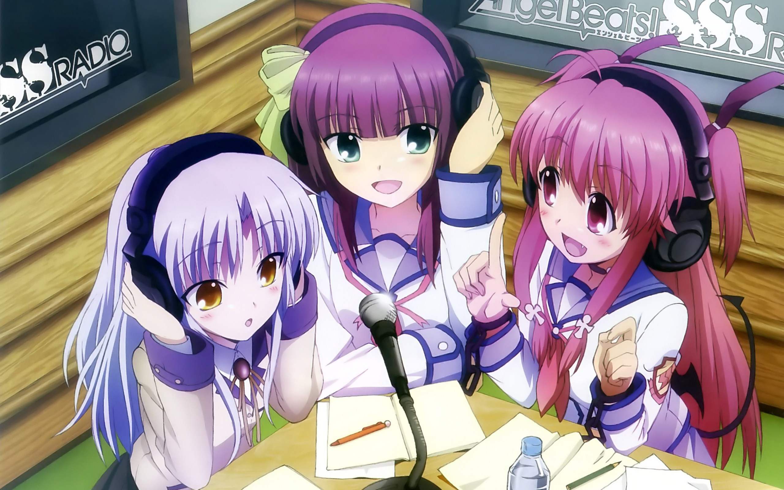 angel beats kanade wallpaper hd