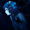 Anime Person listening to dubstep
