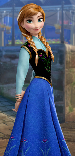 Princess Anna 바탕화면 called Anna HD