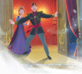 nagyelo wolpeyper entitled Anna and Elsa's parents: King and reyna from Arendelle