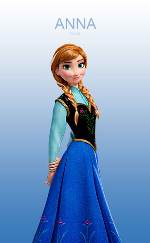 Princess Anna kertas dinding called Anna
