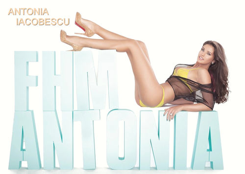 Antonia Iacobescu FHM model romanians